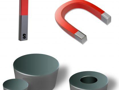 Różnice między magnesem neodymowym a ferrytowym